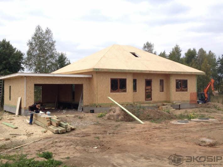 Проект Дома Из Сип Панелей До 100 Кв.м