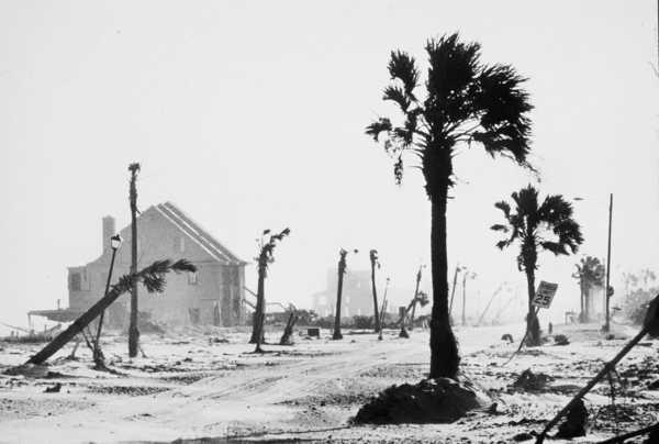 СИП дом после урагана Хьюго